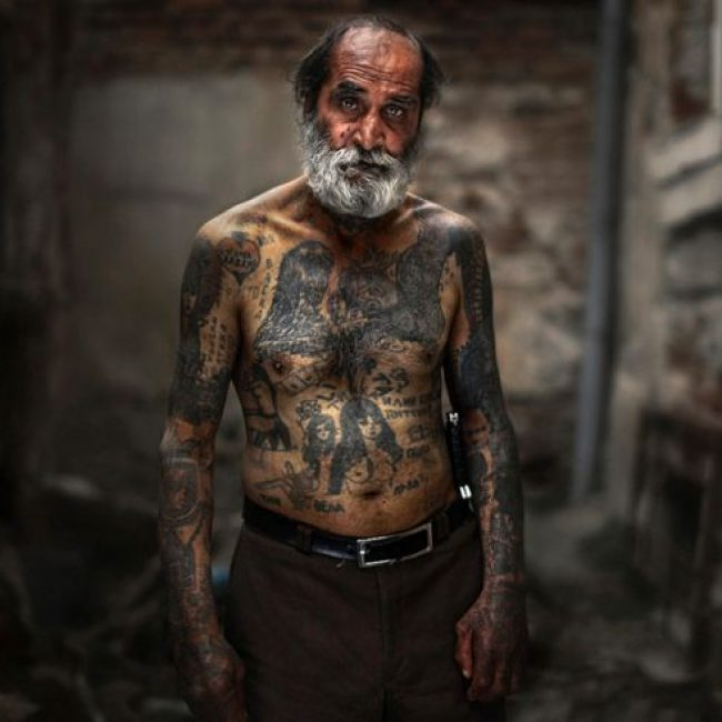 Old People with Tattoos 17