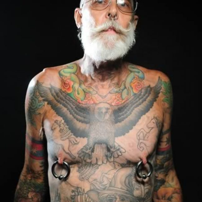 Old People with Tattoos 18