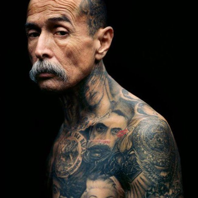 Old People with Tattoos 19