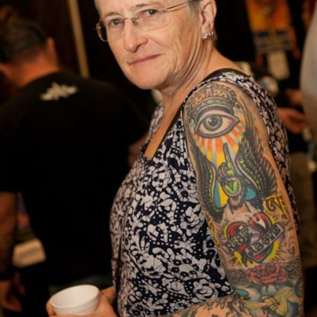 Old People with Tattoos 21