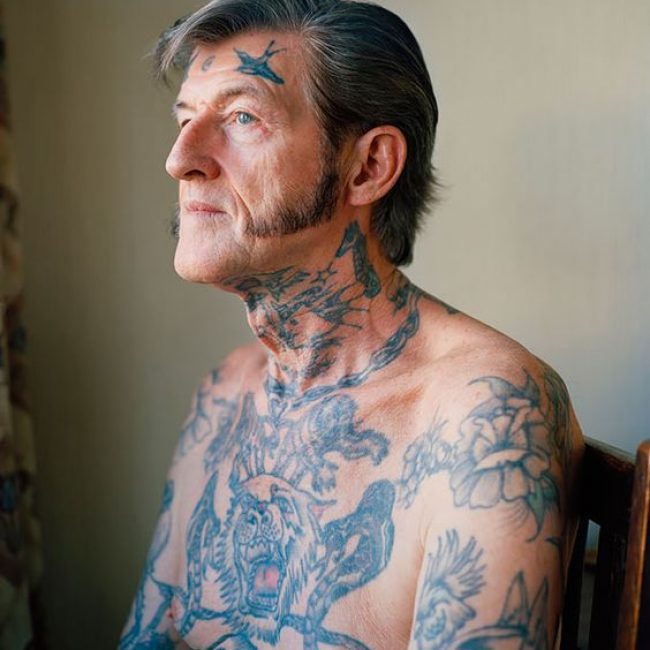 Old People with Tattoos 25