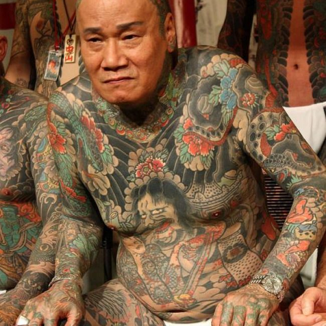 Old People with Tattoos 26