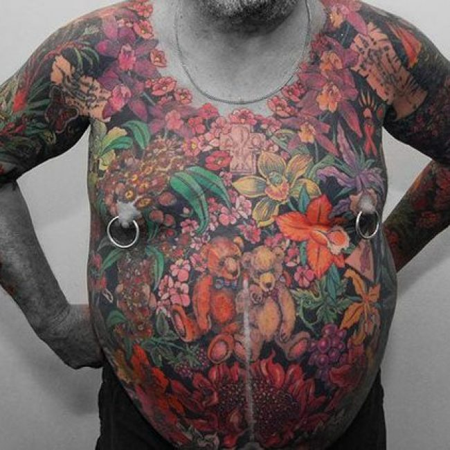 Old People with Tattoos 27