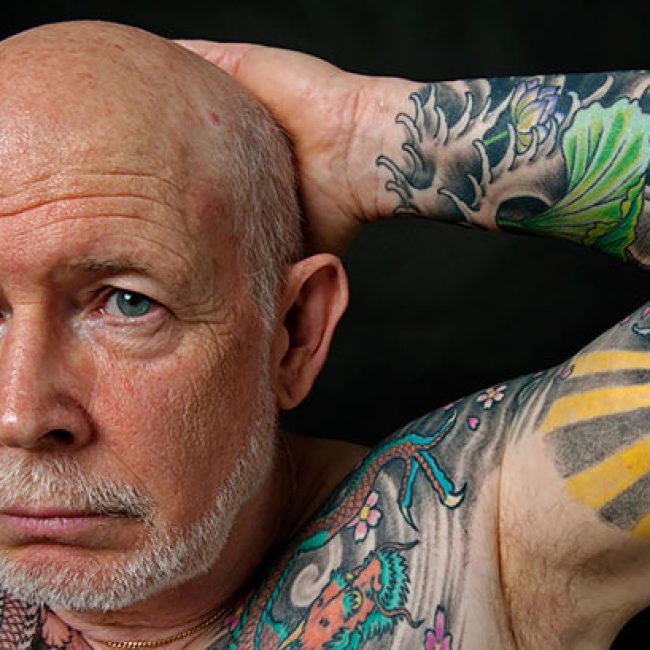 Old People with Tattoos 29