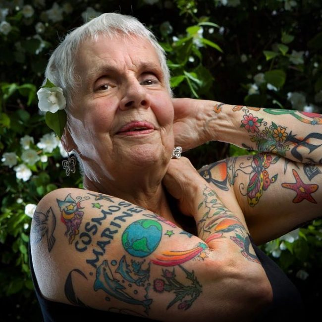 Old People with Tattoos 3