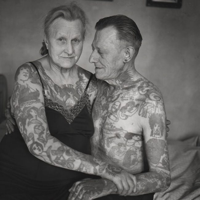 Old People with Tattoos 30