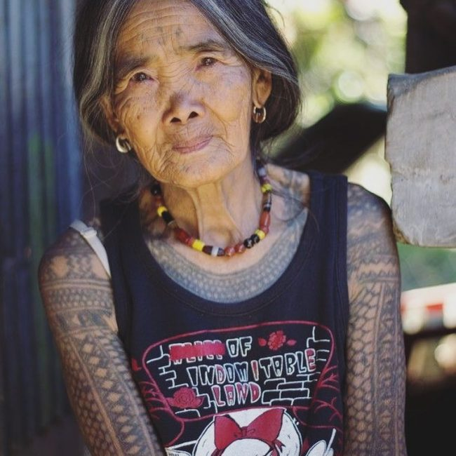 Old People with Tattoos 7