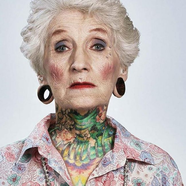 Old People with Tattoos 9