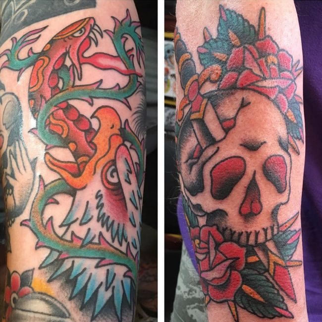 Oliver Peck Tattoo 13