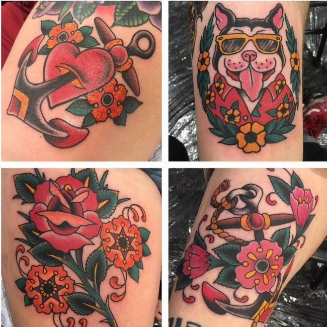 Oliver Peck Tattoo 14