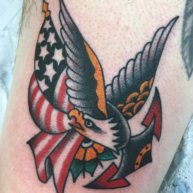 Oliver Peck Tattoo 2
