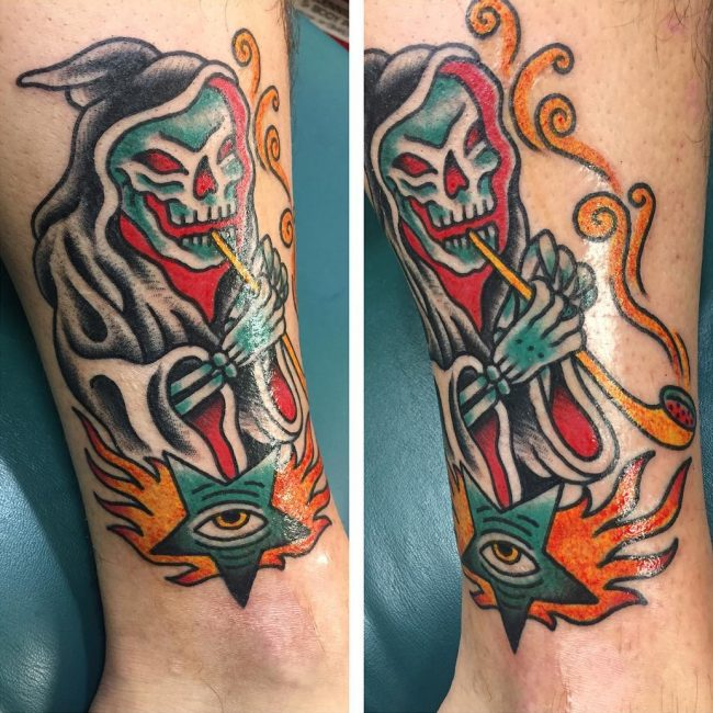 Oliver Peck Tattoo 21