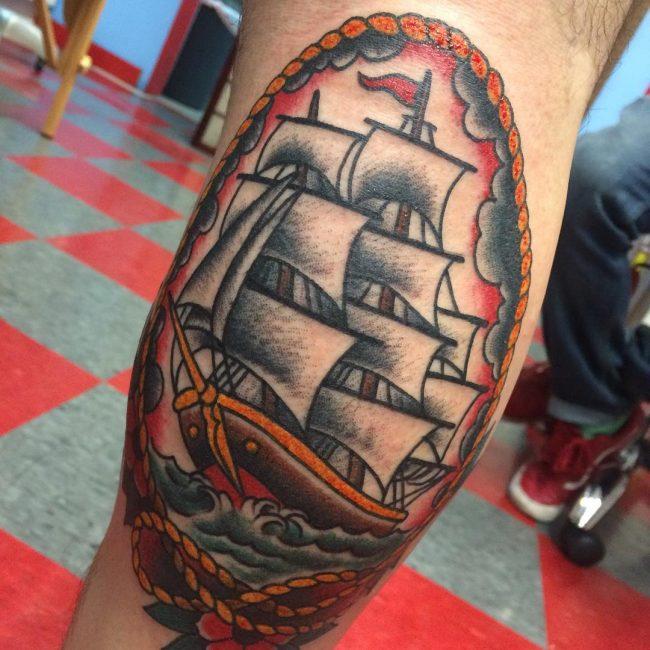 Oliver Peck Tattoo 26