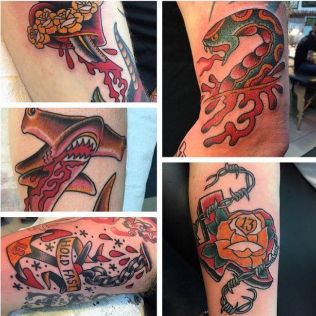 Oliver Peck Tattoo 35