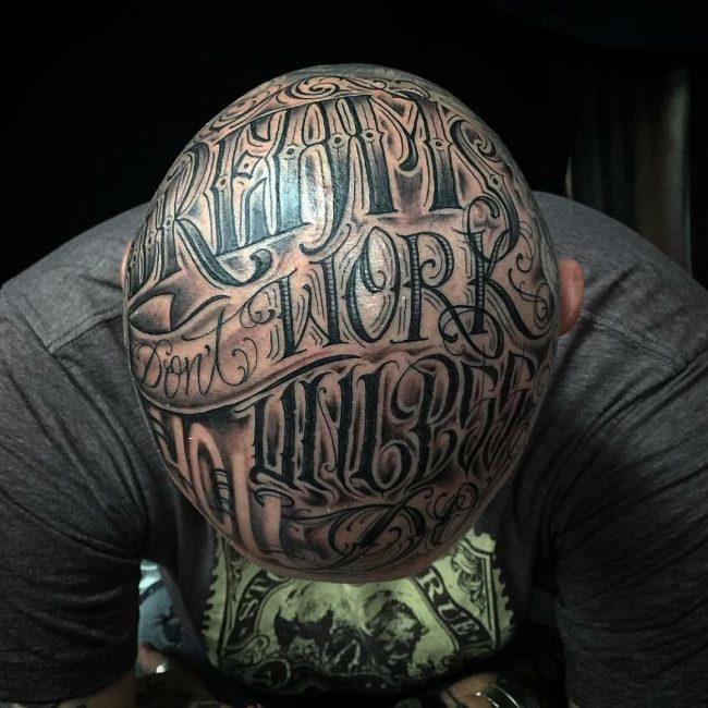 Script Tattoo 1