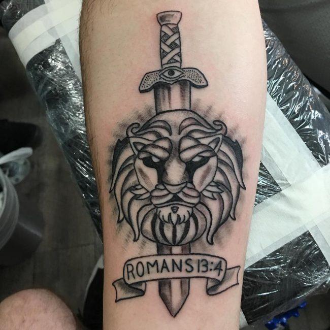 Script Tattoo 10