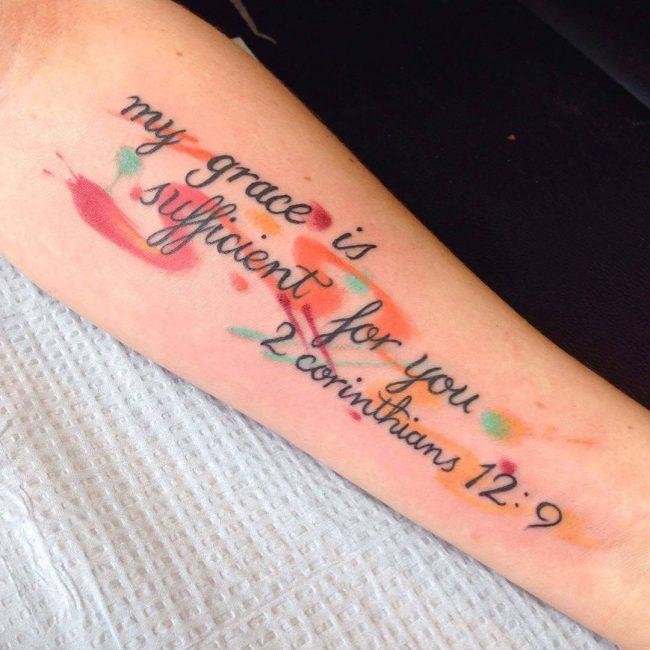 Script Tattoo 11