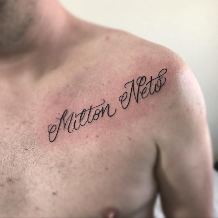 Script Tattoo 18
