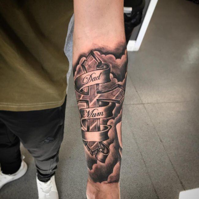 Script Tattoo 21