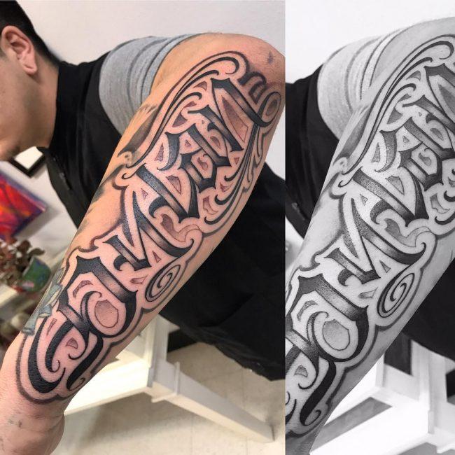 Script Tattoo 24