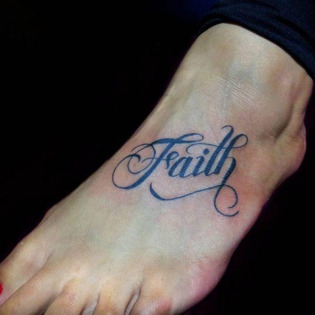 Script Tattoo 27