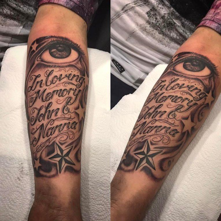 Script Tattoo 30