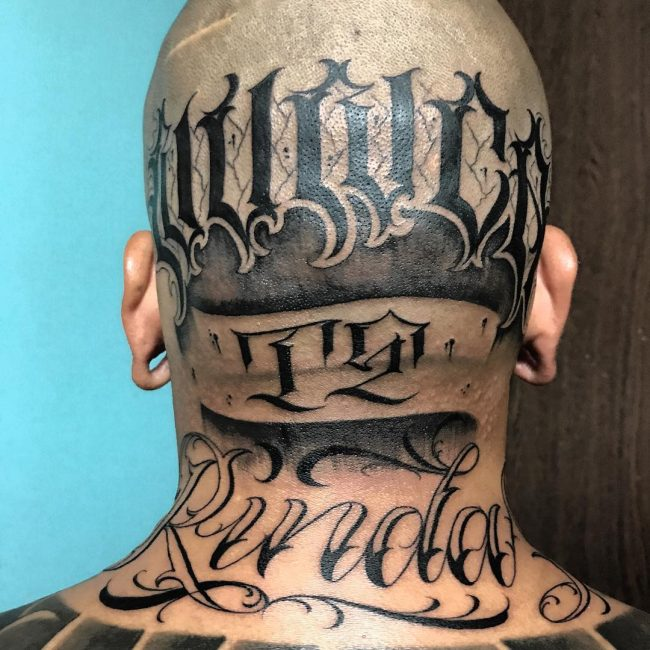 Script Tattoo 33