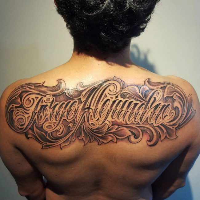 Script Tattoo 37