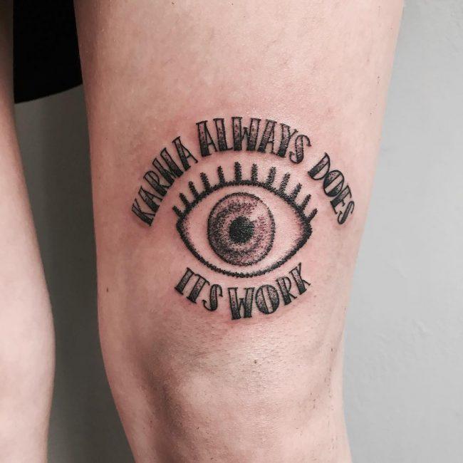 Script Tattoo 41