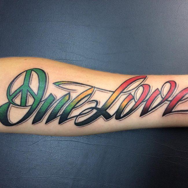 Script Tattoo 45