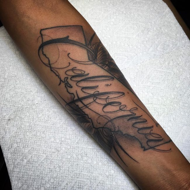 Script Tattoo 48