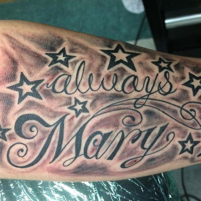 Script Tattoo 51
