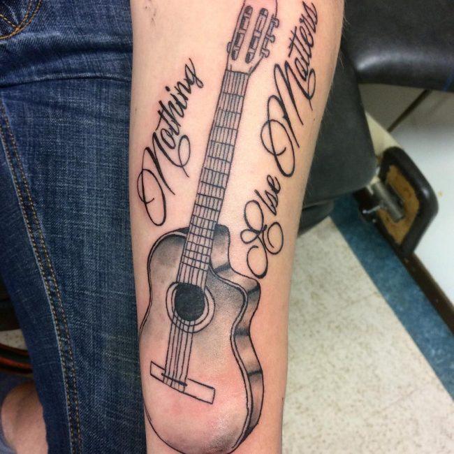 Script Tattoo 52