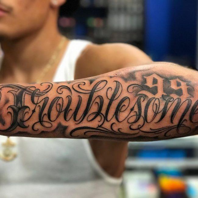 Script Tattoo 53