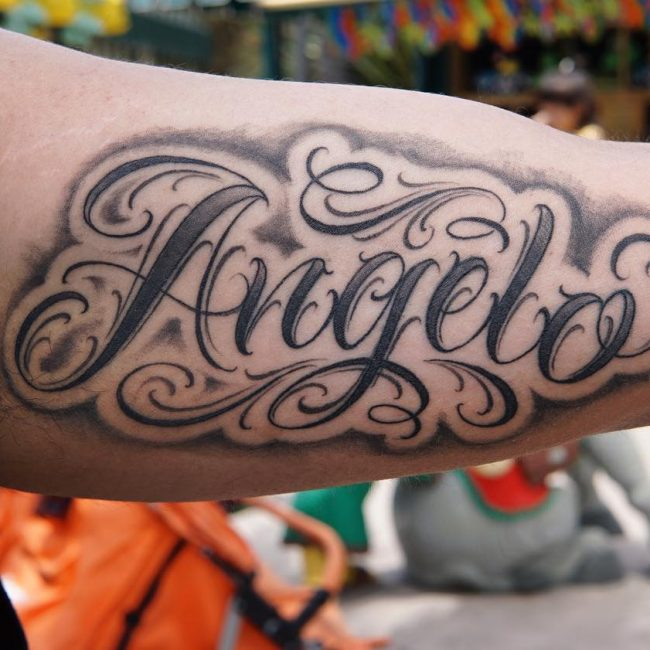 Script Tattoo 55