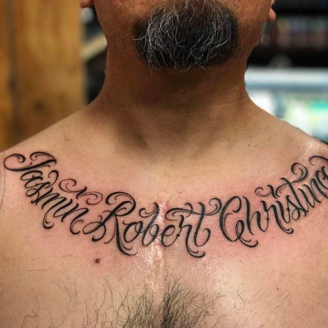 Script Tattoo 57