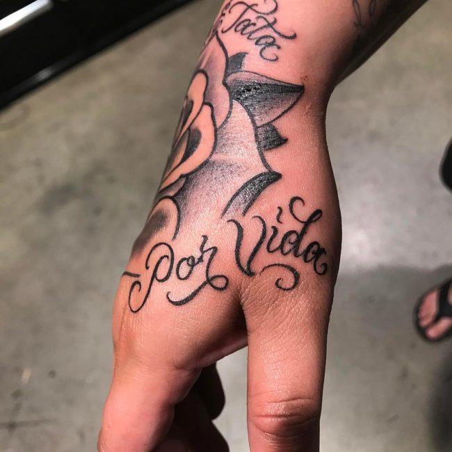 Script Tattoo 58