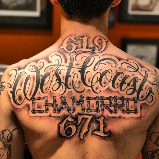 Script Tattoo 62