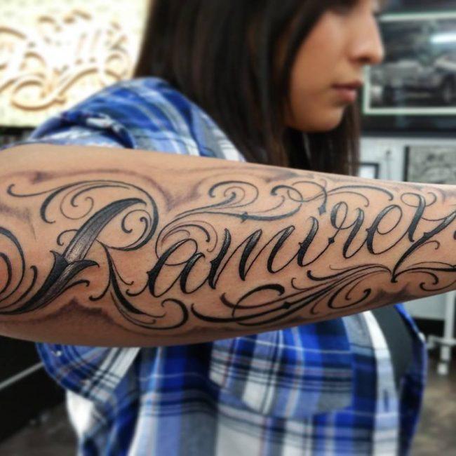 Script Tattoo 66