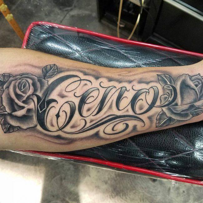 Script Tattoo 67