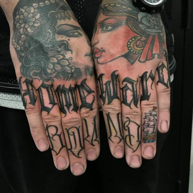 Script Tattoo 73