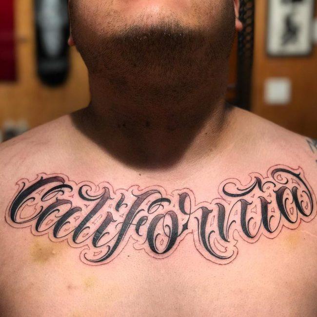 Script Tattoo 76