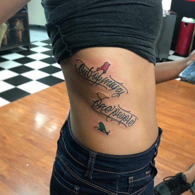 Script Tattoo 78