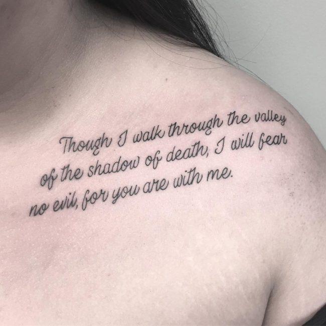 Script Tattoo 80