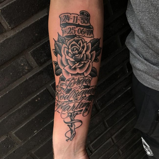 Script Tattoo 82