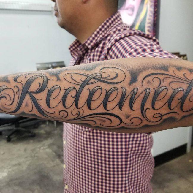 Script Tattoo 88