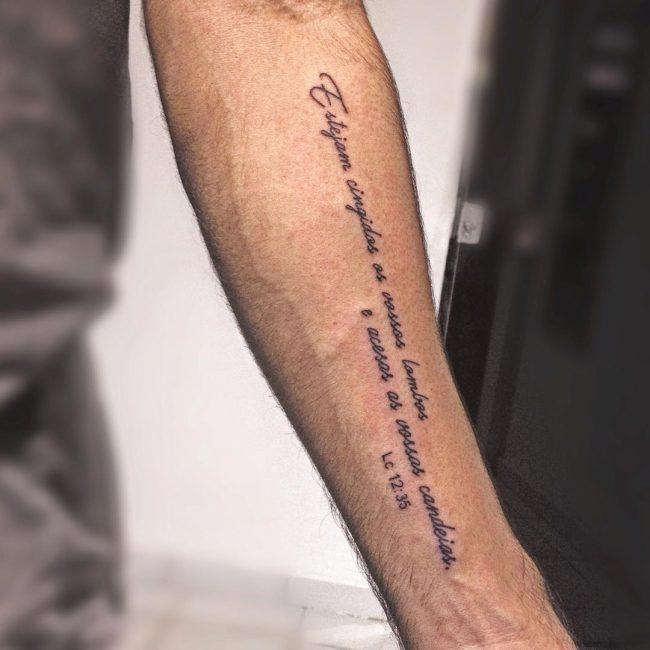 Script Tattoo 9
