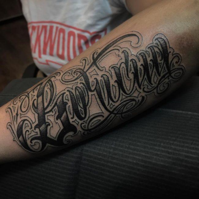 Script Tattoo 93