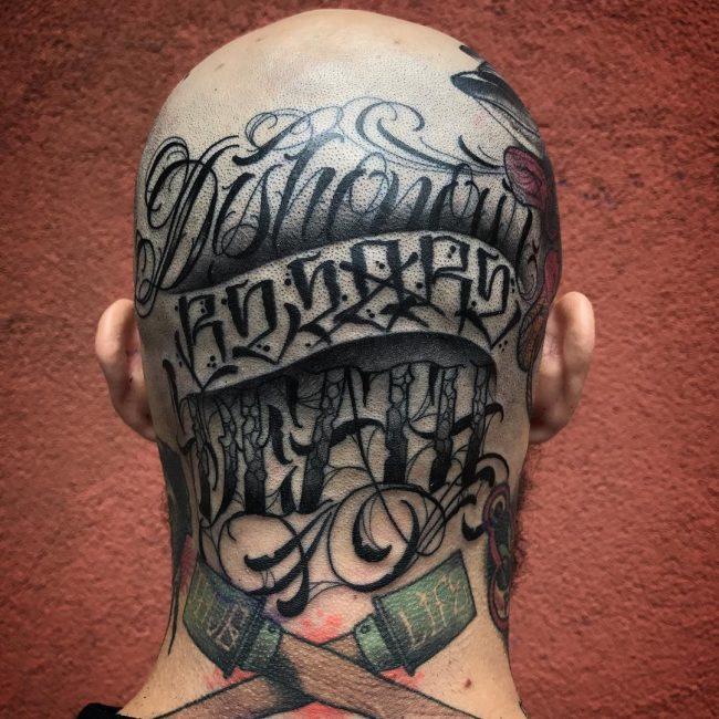 Script Tattoo 94
