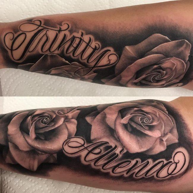 Script Tattoo 95